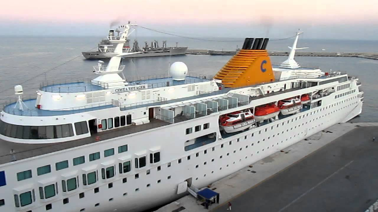 Costa Voyager Costa Cruises Rhodes Greece Europe YouTube - Grand voyager cruise ship
