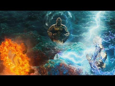 三个假如来在地球斗法,真如来一只手就灭了他们!一部魔幻剧情片