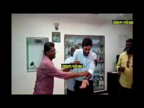 Sun Tv Roja Serial Hero Arjun Birthday Celebration @ Roja Shooting