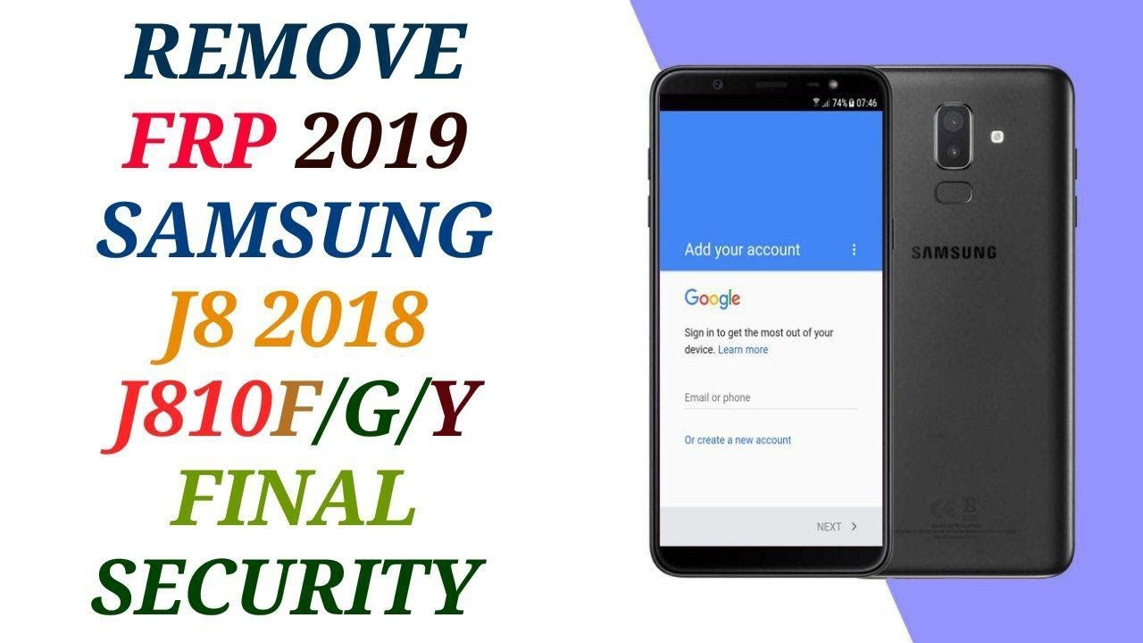 how to remove frp samsung j8 2018 u2 without desktop j810f/g/h