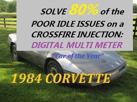 1995 Blazer Wiring Diagram 1984 Corvette Quot Twin Quot Idle Air Control Valves Poor Idle
