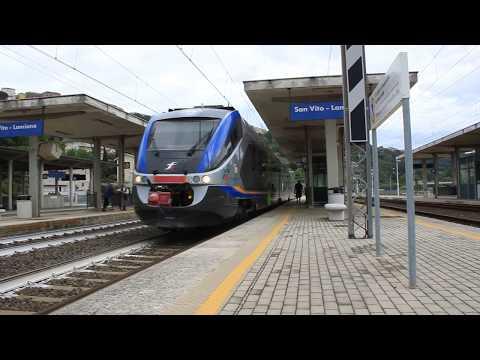 Arrivo a San Vito - Lanciano del Regionale 23934 di Trenitalia