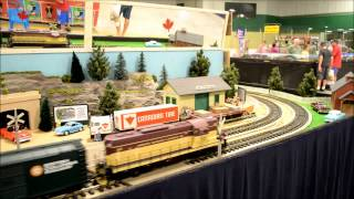 J.P.& F. G-Scale Trains on a Trailer: Video 2