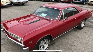 """SOLD"" 1967 Chevelle 4speed $22,900 Maple Motors"
