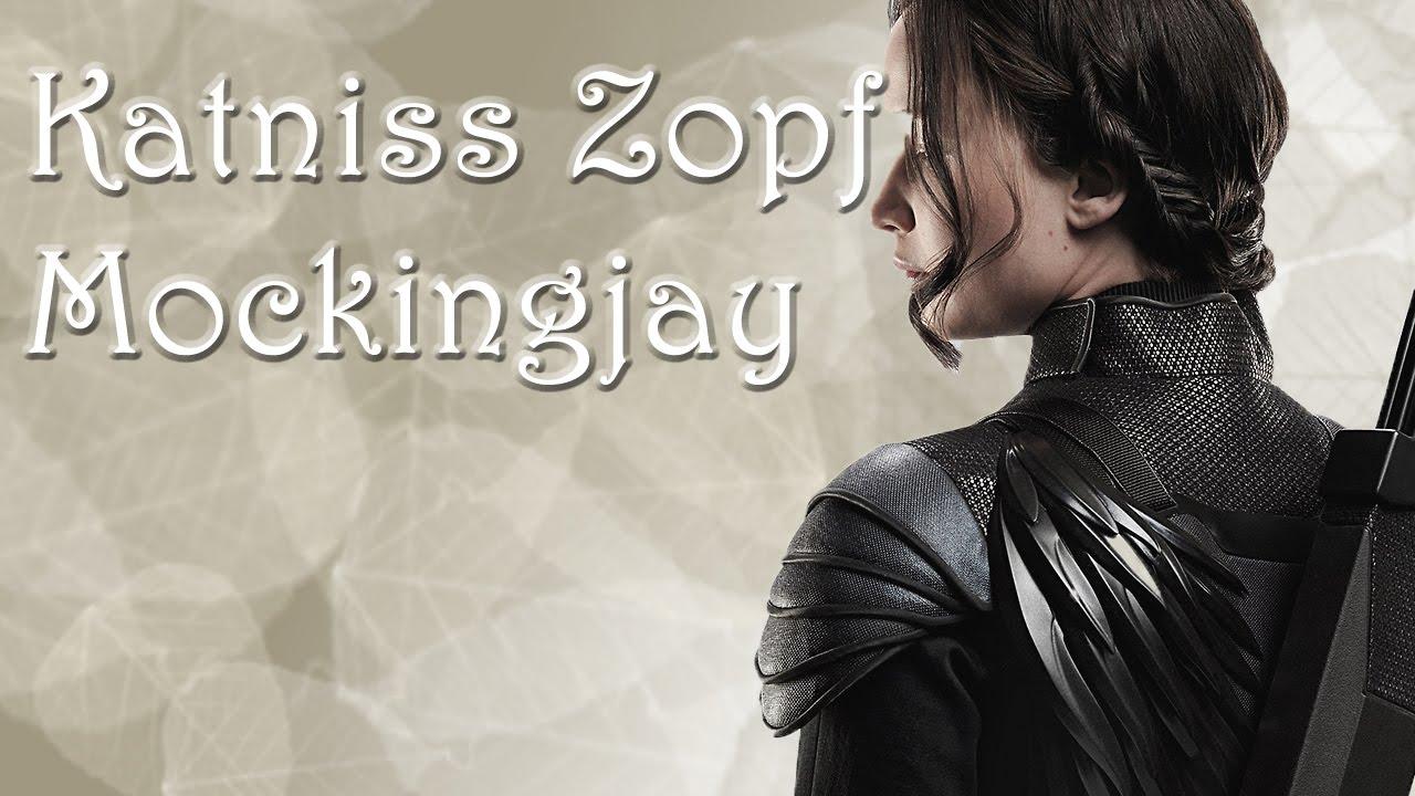 Tutorial Katniss Zopf Mockingjay Haareflechten YouTube