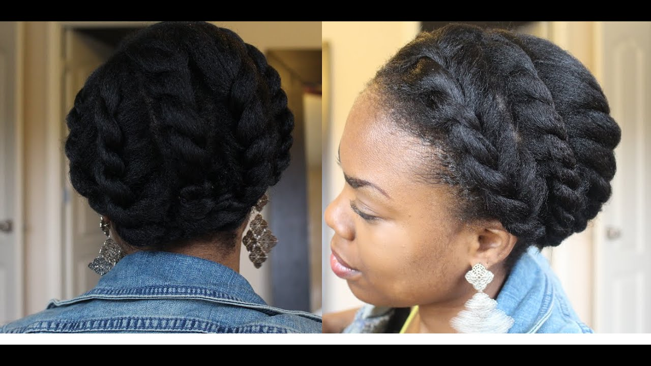 Goddess Flat Twist (Protective Hairstyle)