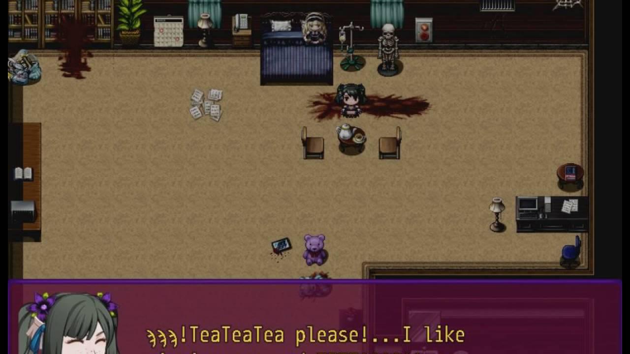 My Dreams Are Awake (Full Gameplay) RPG Maker MV Horror Short