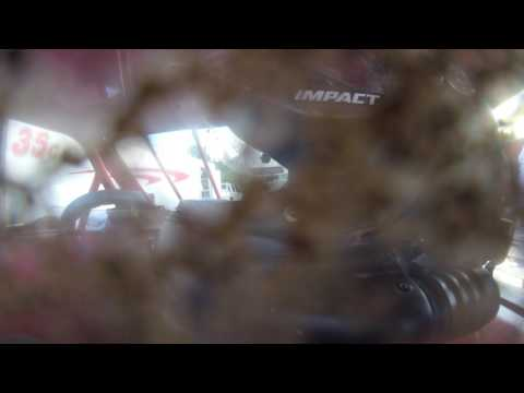 In-Car Portsmouth Raceway Park Sportsmod Heat Race