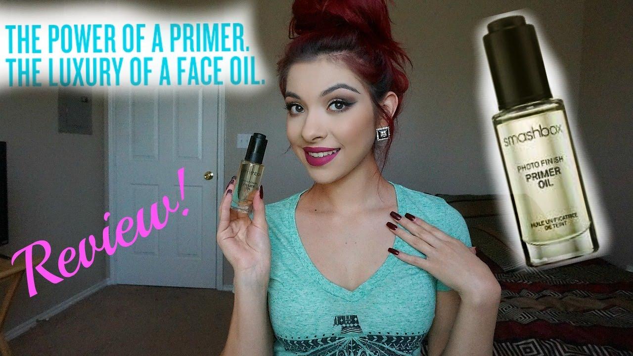 How to use makeup primer oil smashbox photo finish