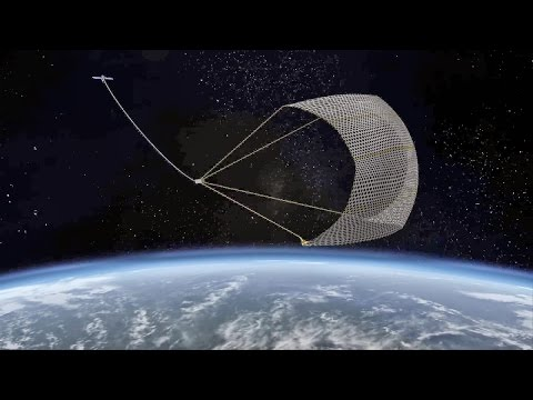 All you need to know about the proposed giant magnetic fishing net to collect space debris