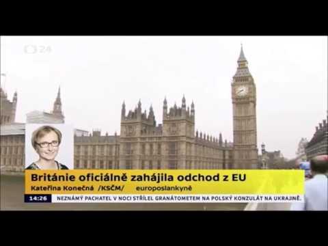 Velká Británie zahájila BREXIT