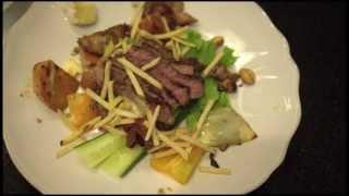 Icelandic Beef And Warm Roasted Vegetable Salad Recipe / Nautasalat Með Grænmeti