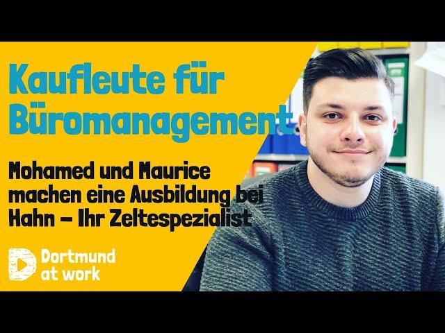Ausbildung zum*r Kaufmann*frau für Büromanagement bei Hahn-Ihr Zeltespezialist