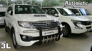 3.SUV/MUV- Buy Used Cars Second Hand Bangalore Toyota Fortuner,Mahindra XUV 500,Scorpio,Thar,Duster