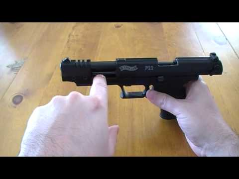 Walther P22 Pistol Review