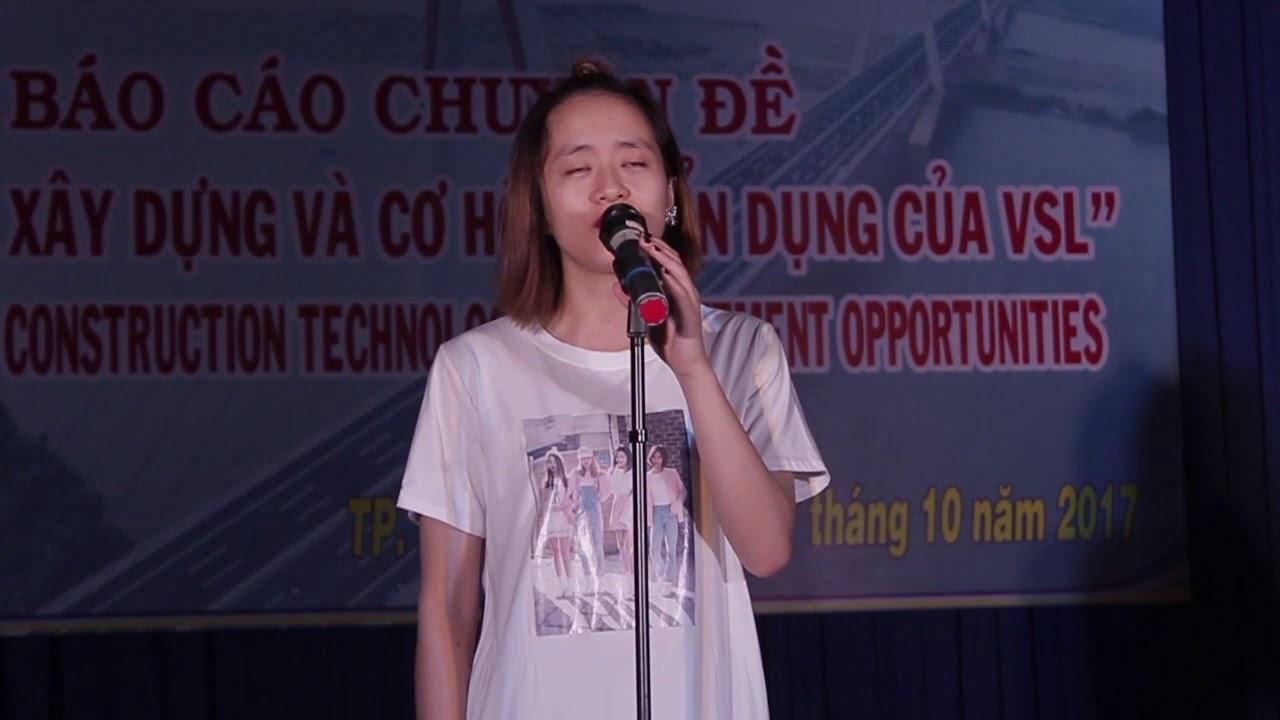 Ráp trình diễn của Phạm Thị Nhung | Ráp sân khấu Duyên dáng nữ sinh | 2017.10.27.(6)