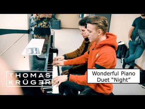WONDERFUL PIANO DUET [Ludovico Einaudi –