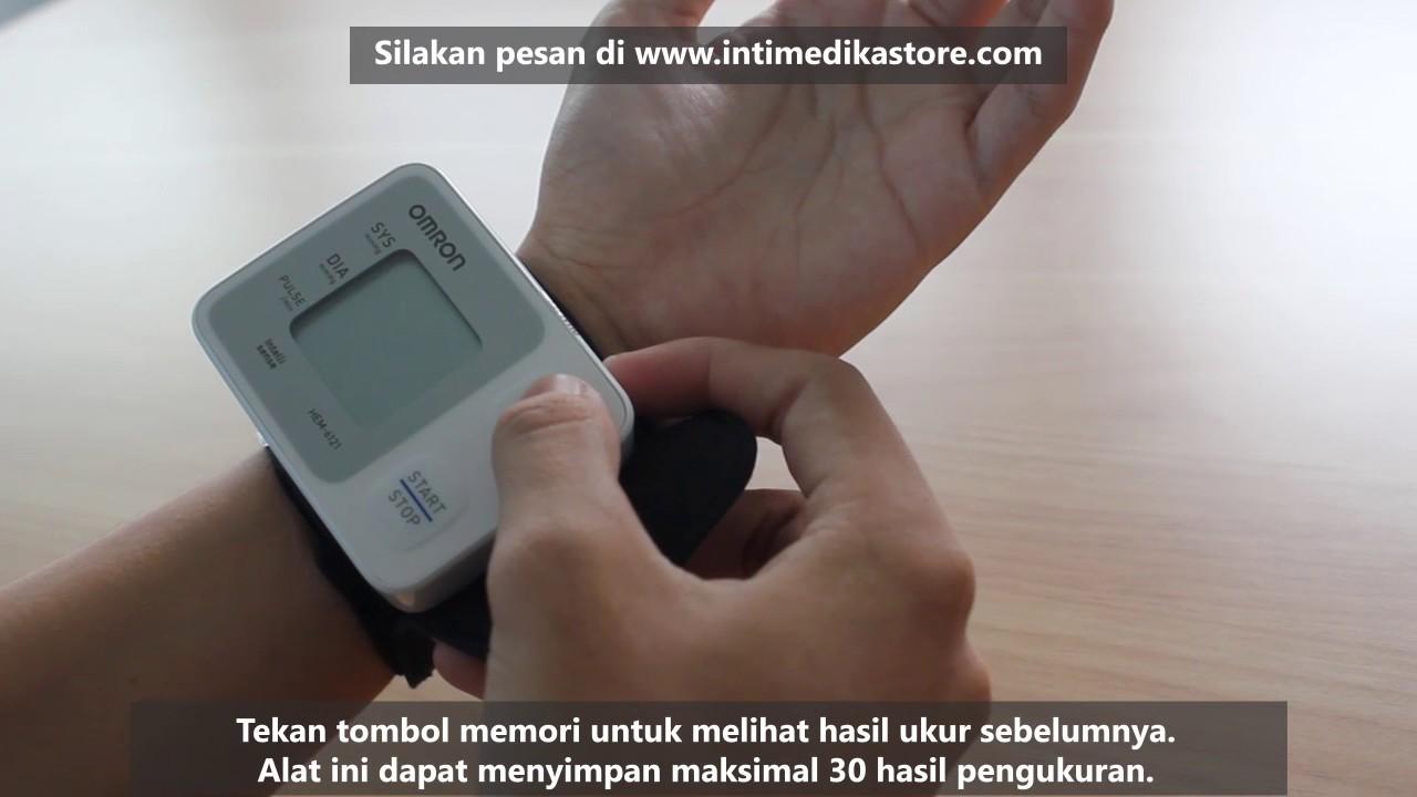 Cara Penggunaan Tensimeter Digital Omron Hem 6121 Intimedikastore Alat Kesehatan Pengukur Tensi Darah Blood Pressure Monitor Intimedikastorecom Pusat Bandung