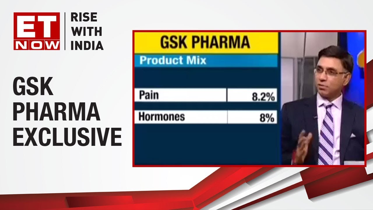 GSK Acing The Investment Game? | A  Vaidheesh of GSK Pharma To ET NOW