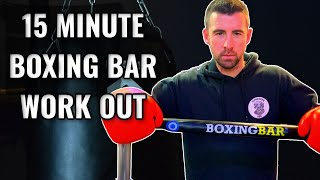 Boxing Bar 6 Round Home Work Out