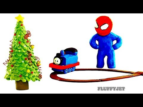 Christmas Presents Opening 2018 Wooden Toy Thomas the Tank Engine play set toy train