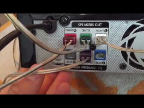 Setting up Samsung surround sound - YouTube
