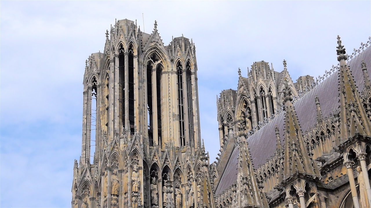 Reims Notre Dame Cathedral Youtube