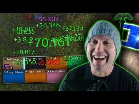 NEVER DIE - Six Healer Rated Battleground Troll (Twin Peaks) - WoW Legion PvP