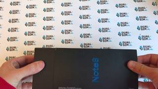 UNBOXING - Samsung Galaxy Note 8 Dual Sim