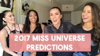 FINAL Miss Universe Predictions! (FULL VERSION) By 4 Miss Universe Former Contestants - Nia Sanchez