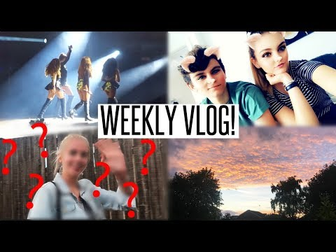 VLOG: The Rainiest Little Mix Concert & An Unexpected Visitor!