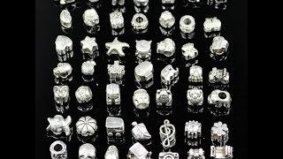 Шармы для браслетов Пандора с Алиэкспресс. Распаковка и обзор посылок из Китая.