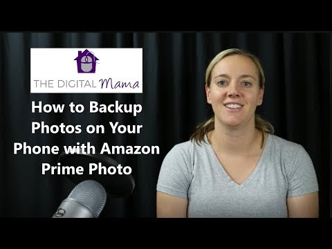 How to Backup Photos on Your Phone with Amazon Prime Photo
