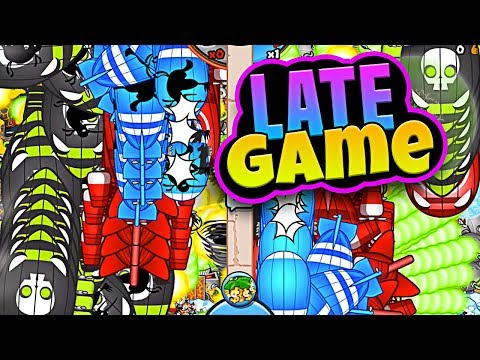 Bloons TD Battles  ::  CRAZY LATE GAME