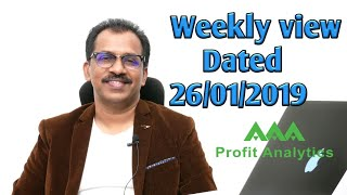 AAA Profit Analytics CEO Sajeesh Krishnan's weekly view dated 26th January 2019.In Malayalam.