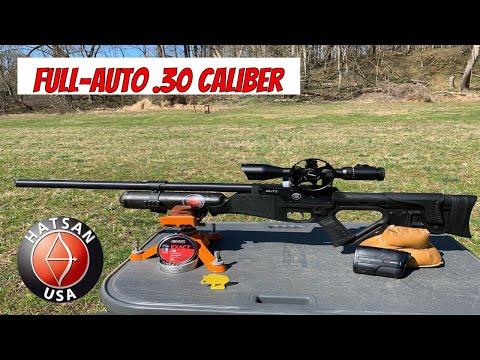HatsanUSA | Blitz | PCP Full Auto Air Rifle