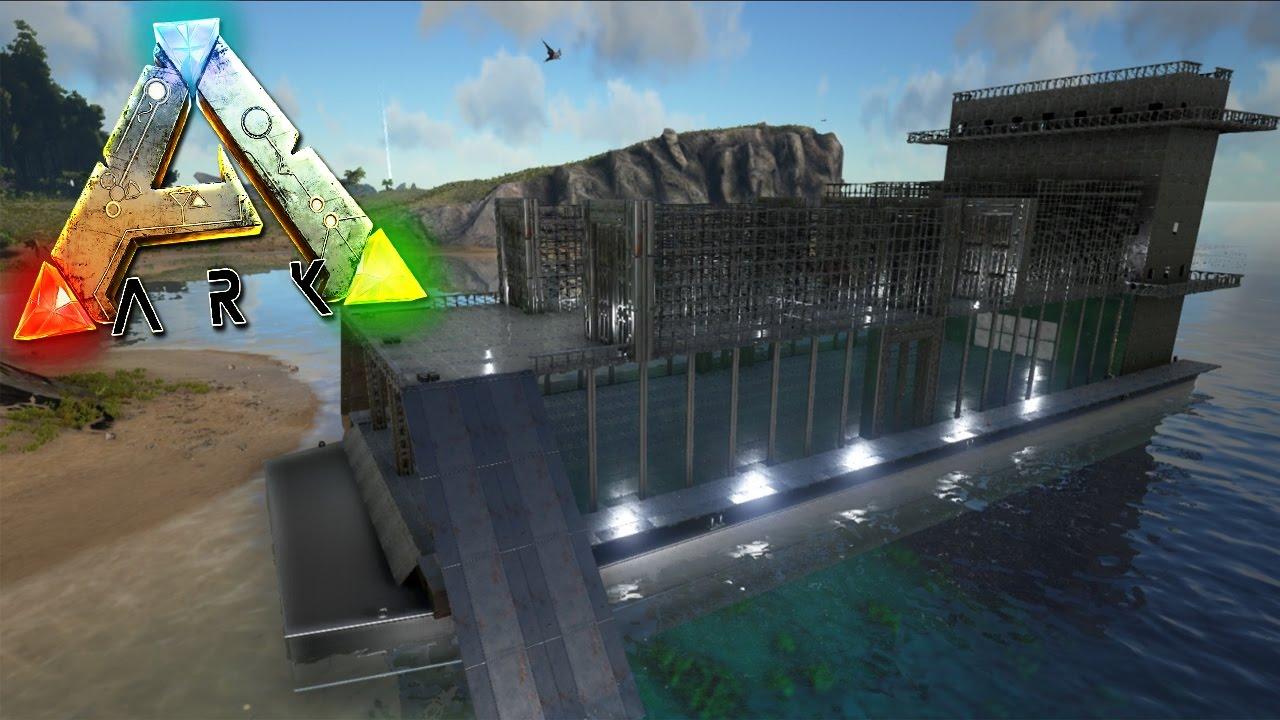 Ark comandos estructuras de metal ark survival evolved ps4 youtube - Estructuras de metal ...