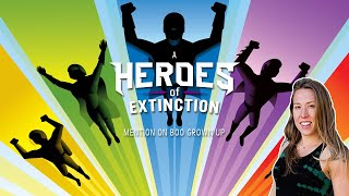 Heroes of Extinction recording with Mary Gibbs