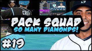 5 DIAMOND ADDITIONS! EXTRA INNING THRILLER! PACK SQUAD #19 MLB 17 DIAMOND DYNASTY!