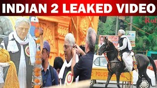 Indian 2 leaked video