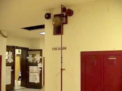 George Barber Elementary School Fire Alarm Youtube