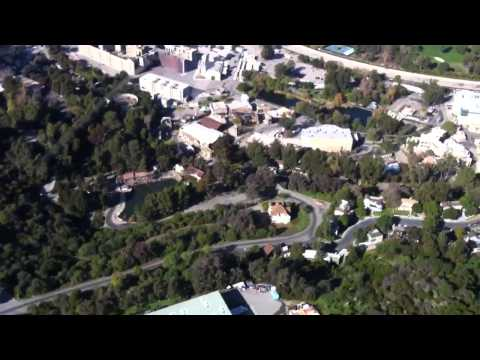 Helicopter Tour Over Los Angeles - 12/26/12 (Orbic Air Company, Van Nuys, CA) - Part 1