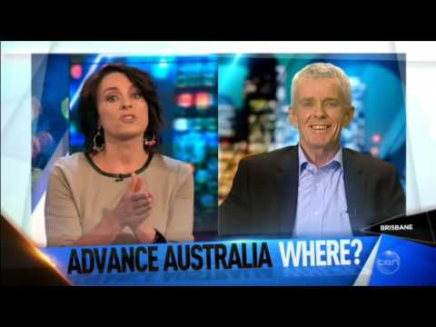 Malcolm Roberts on the Project talking about planning to ban Muslim immigration