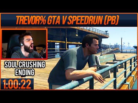 A Soul Crushing Trevor% PB - 1:00:22 (GTA V Speedrun)