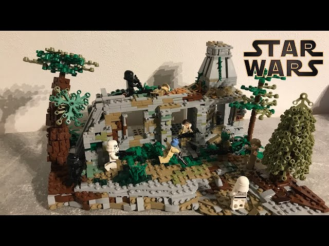 Imperial Ambush on Yavin IV/ Lego Star Wars Moc (Collaboration with 41st-Gree and 212th Productions)