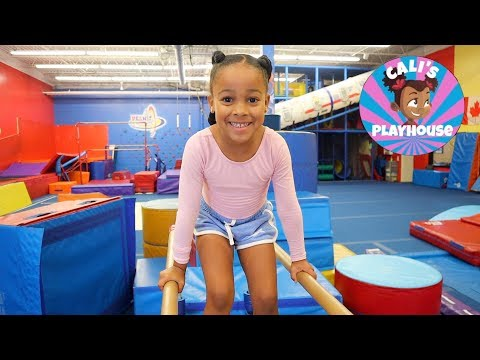 Gymnastics with Cali | Cali's Playhouse