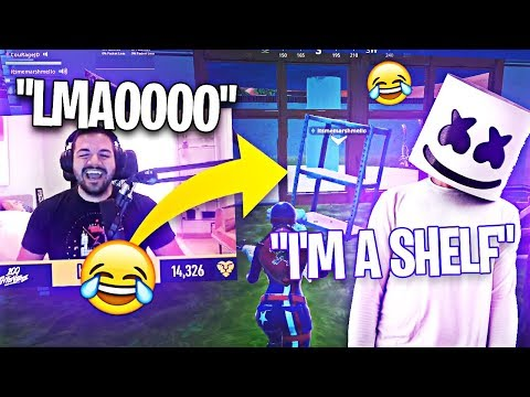 MARSHMELLO AND COURAGE REACT TO CRAZY SEASON 10 CHANGES! (Fortnite: Battle Royale)