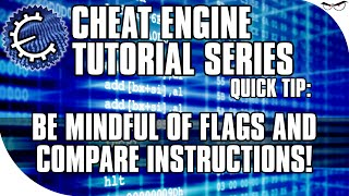 Cheat Engine 6.5 Tutorial: Be Mindful of Compares and Flags!  (PUSHF and POPF)