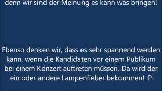 Deutschland sucht den Superstar 2015 - DSDS neue Staffel