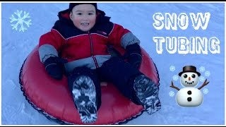 Snow Tubing - SNOW TUBING BOREAL | Kids Family Awesome Snow Sliding | Small and Big Kid Slopes